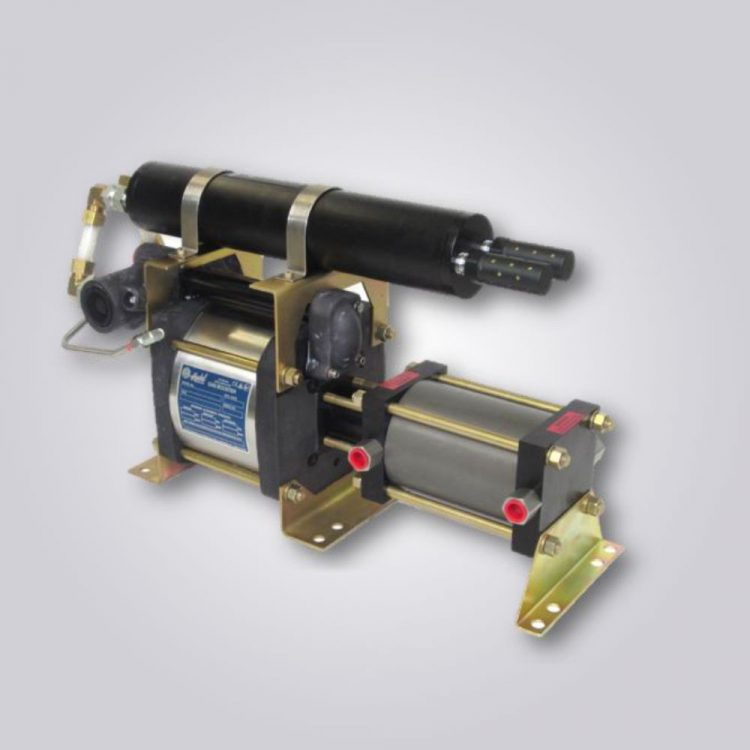 HD-tech - Produkte - Druckluftverstärker 8AAD-2 - Haskel
