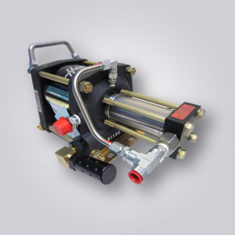 HD-tech - Produkte - Druckluftverstärker AA-8 Haskel