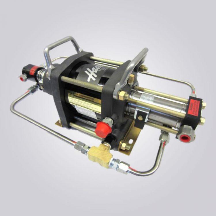 HD-tech - Produkte - Druckluftverstärker AAT-30/50 - Haskel