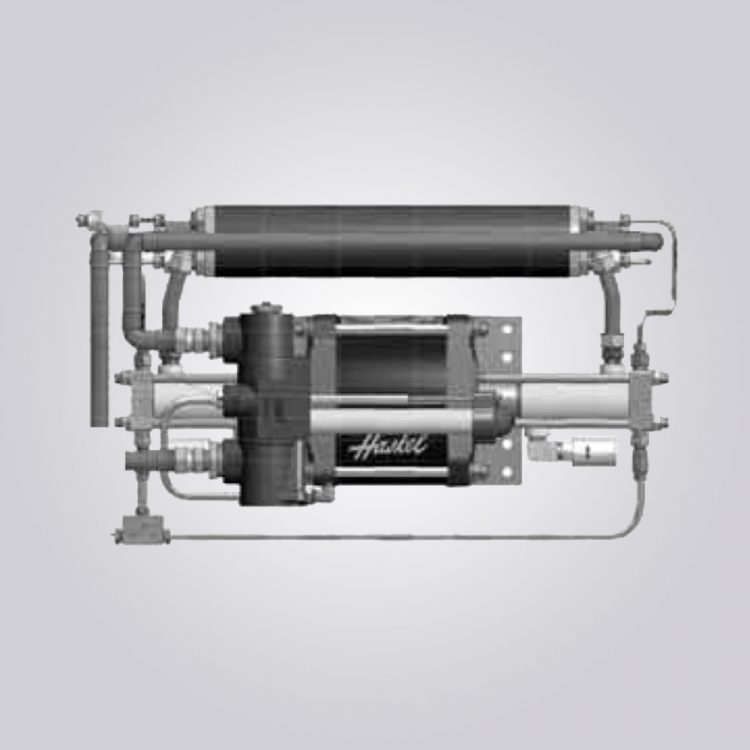 HD-tech - Produkte - Gas-Kompressor - 8AGT-5/30 - Haskel