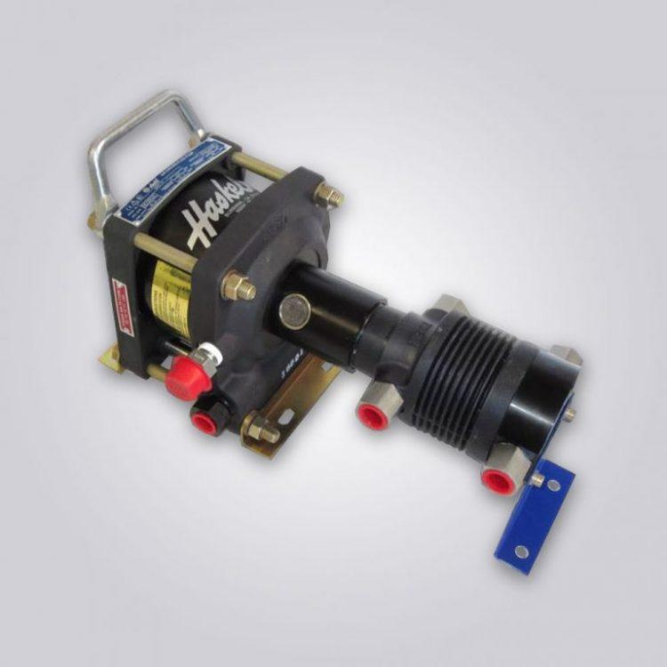 HD-tech - Produkte - Gas-Kompressor - AGT-4 - Haskel