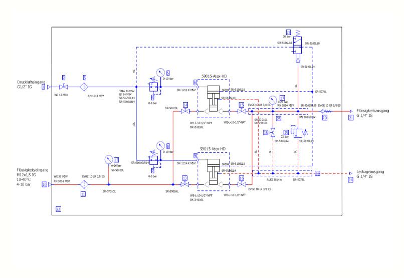 HDTech - Verdichterstation - AA-1063D 59015-HD- Schaltplan