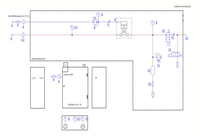 HDTech - Verdichterstation - AA-8-40 bar / AA-1160-5