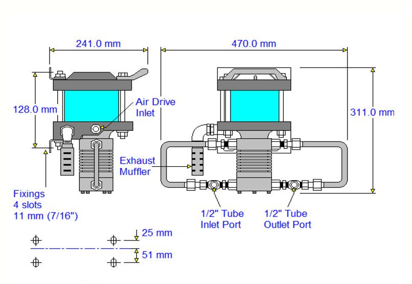HDTech - Verdichterstation - AAD-5-C / AA-1187