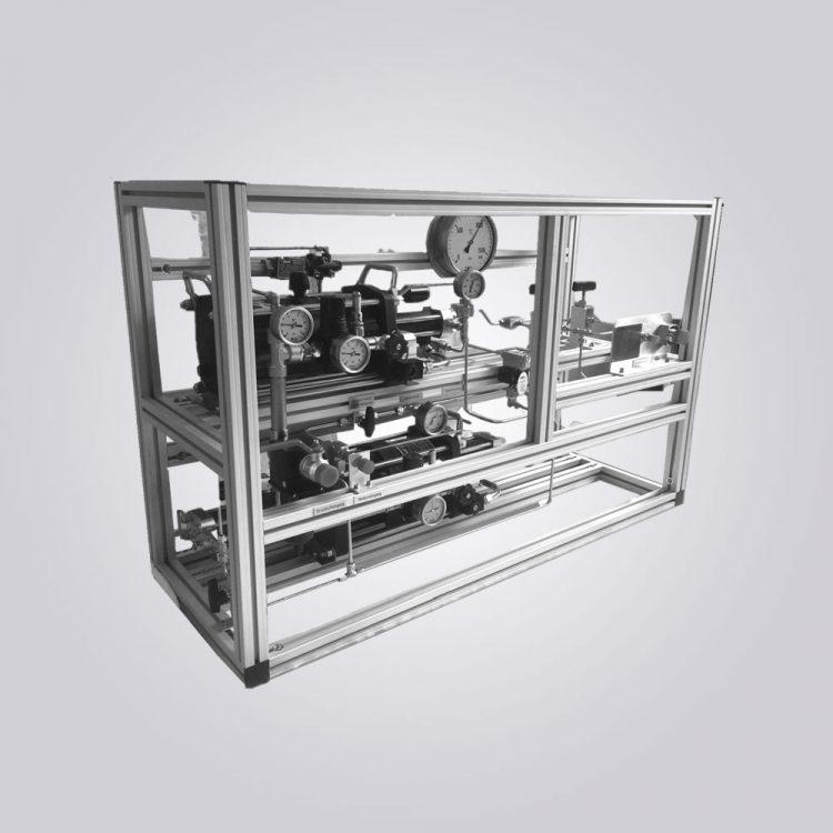 HD-Tech - Komplettanlage Gaskompressor - Verdichterstation AGD-62 - AGT-62/152H 1.500 bar