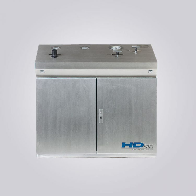HD-Tech - Komplettanlage Gaskompressor - Verdichterstation AGT-14/62-H2-Atex-500 bar