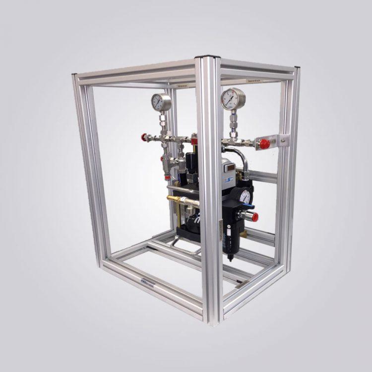 HD-Tech - Komplettanlage Gaskompressor - Verdichterstation - GB-0031-5 AG-15 / 70 bar
