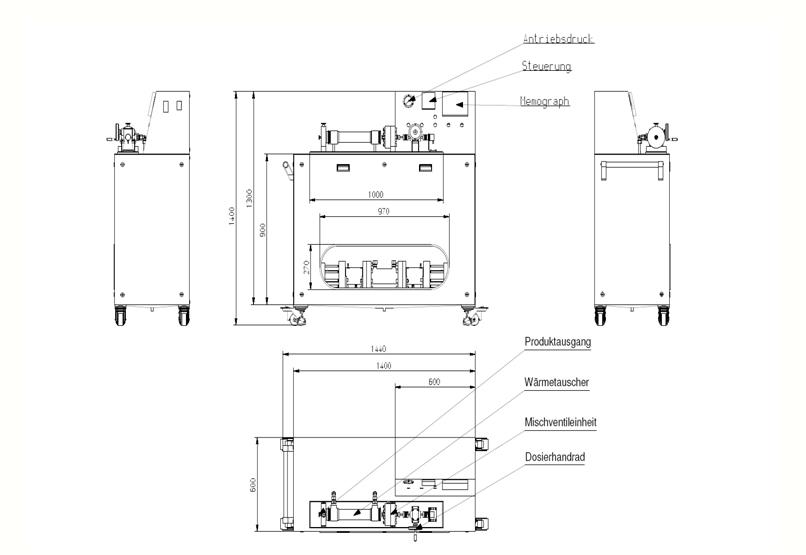 HD Tech - Prüfstand - NJ1600HD100 - Schaltplan