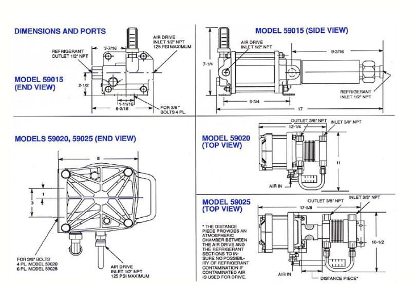 HD Tech - Haskel - Pumpen - 59015-Atex-82500 - Konstruktionszeichnung