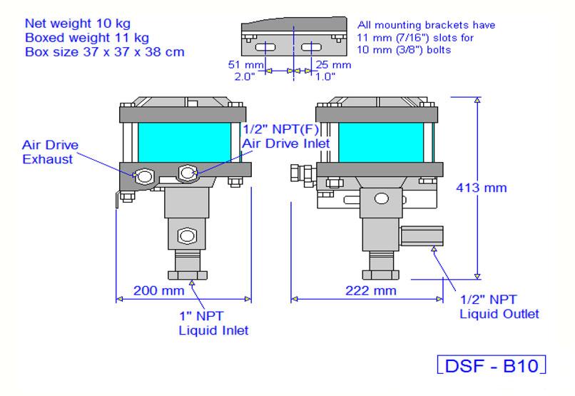HD Tech - Haskel - Pumpen - DSF-B10-29375 - Massblatt