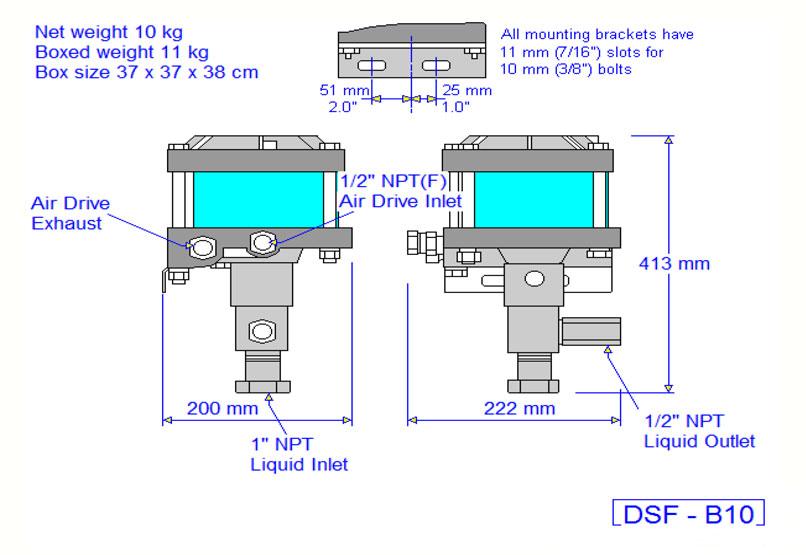 HD Tech - Haskel - Pumpen - DSF-B10-29376 - Massblatt