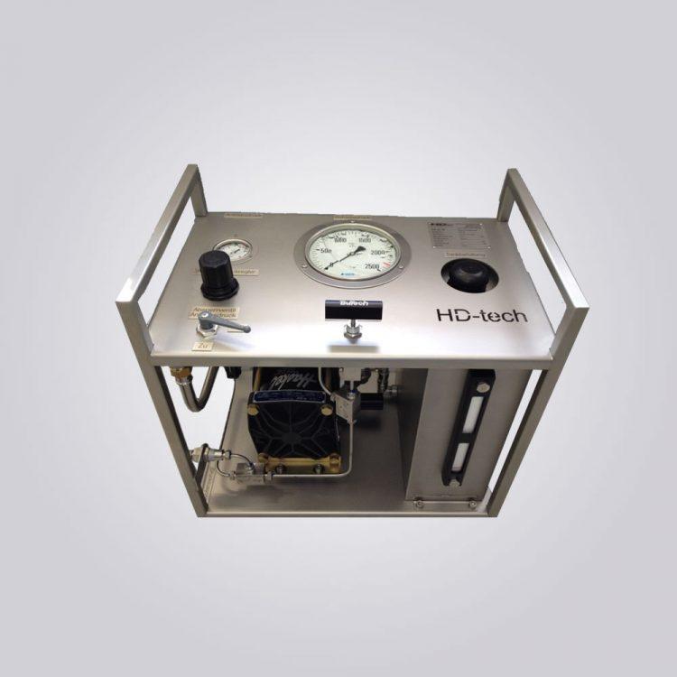 HD Tech - Komplettanlage Flüssigkeiten - ASF-100-1000 bar
