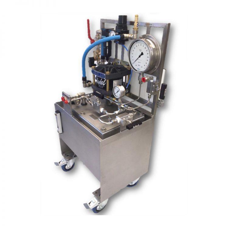 HD Tech - Komplettanlage Flüssigkeiten - LP-1308 ASF-25 - 150 bar