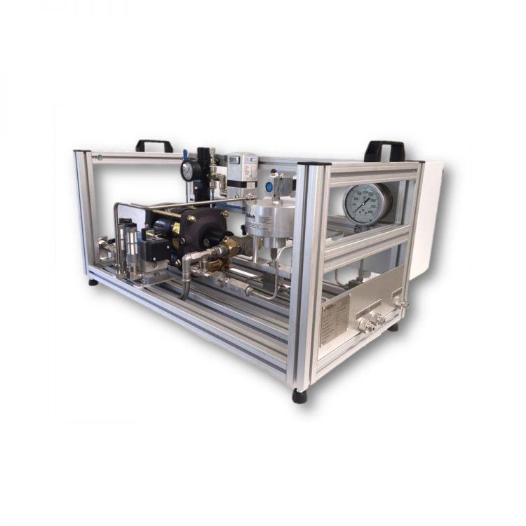 HD Tech - Komplettanlage Flüssigkeiten - LP-1312-1 DSXHF-452-HD-Sensor - 3000 bar