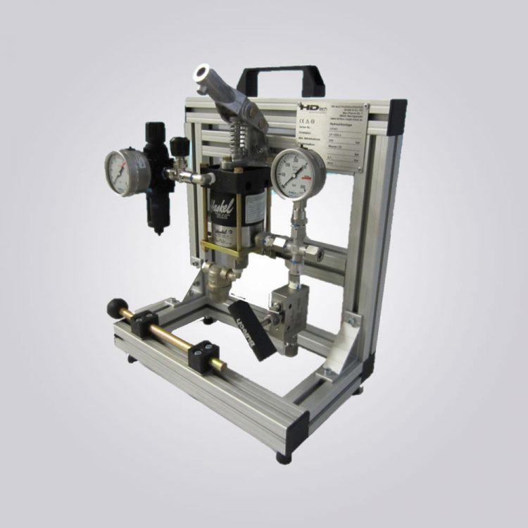 HD Tech - Komplettanlage Flüssigkeiten - MS-21-160 bar