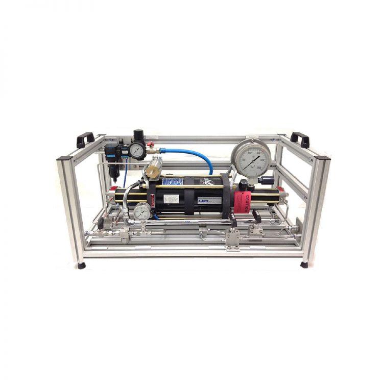 HD Tech - Komplettanlage Gase - AGT-14/62 - 500 bar