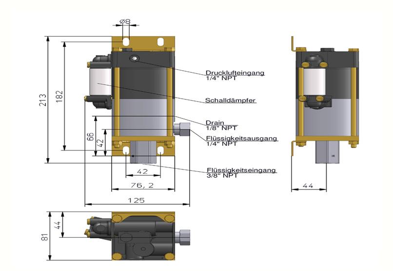 HD Tech - Produkte - Pumpen - MCPV-110 - Massblatt