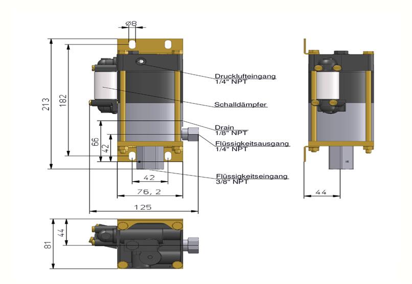 HD Tech - Produkte - Pumpen - MCPV-21 - Massblatt