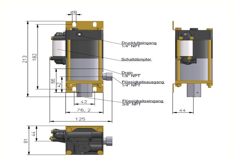 HD Tech - Produkte - Pumpen - MCPV-36 - Massblatt