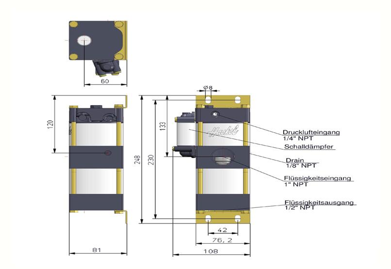 HD Tech - Produkte - Pumpen - MDSTV-5 - Massblatt