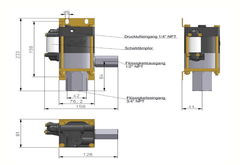 HD Tech - Produkte - Pumpen - MS-7 - Massblatt